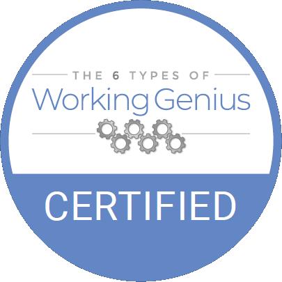 Working Geniuses Certification