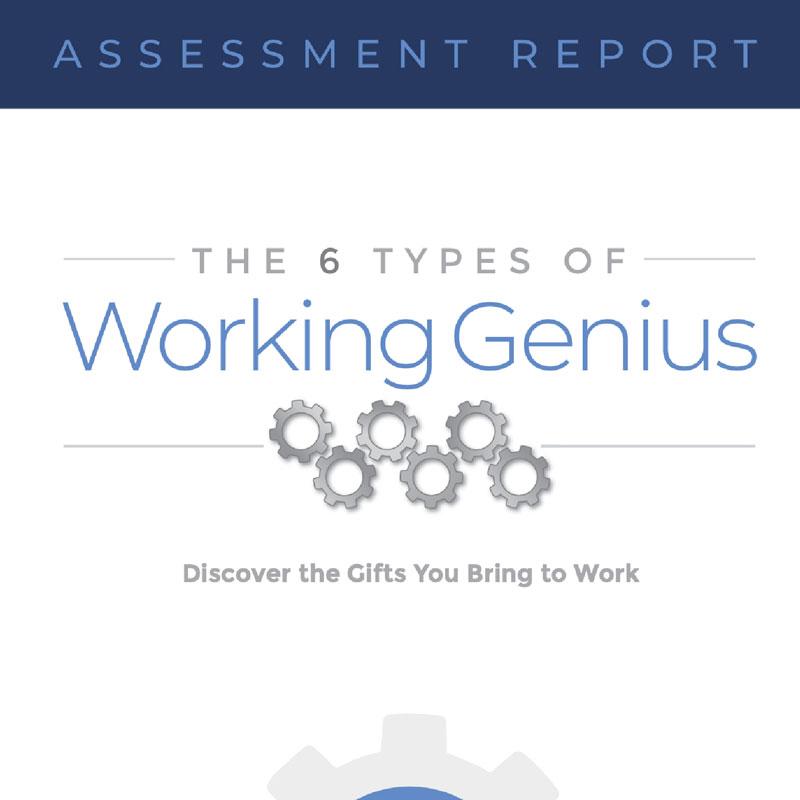 Working Genius Report